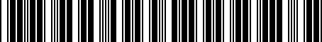 Barcode for PT39848113